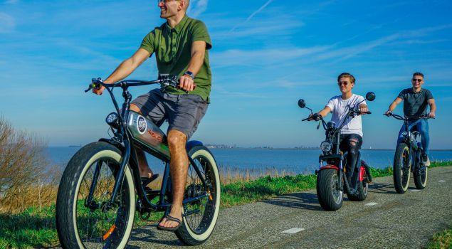 Elektrische scooter uitje vanuit Volendam