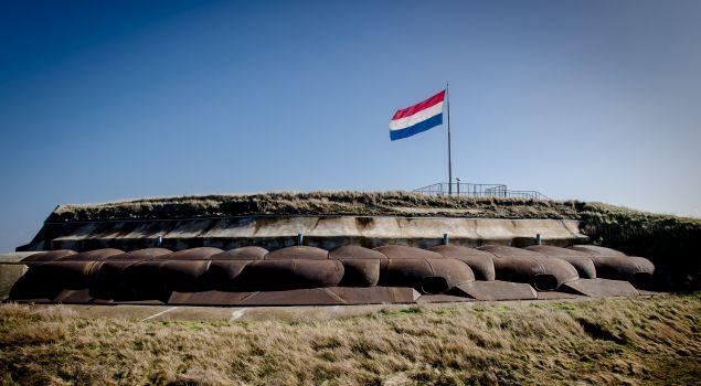 Fort Discovery op een eiland?
