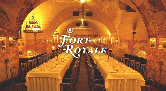 Fort Royale in kerstsfeer