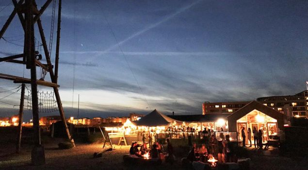 Team on Fire: Winterbarbecue in je eigen paviljoen