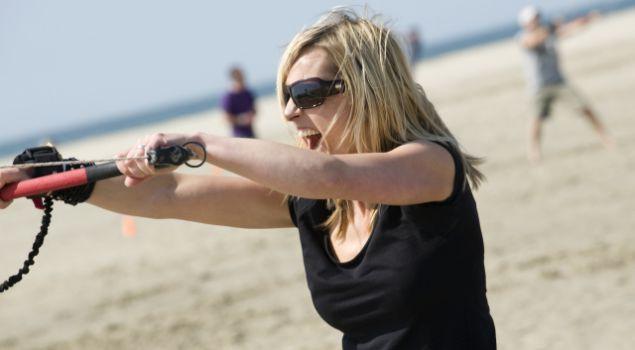 Blokarten én een heerlijke BBQ aan het strand