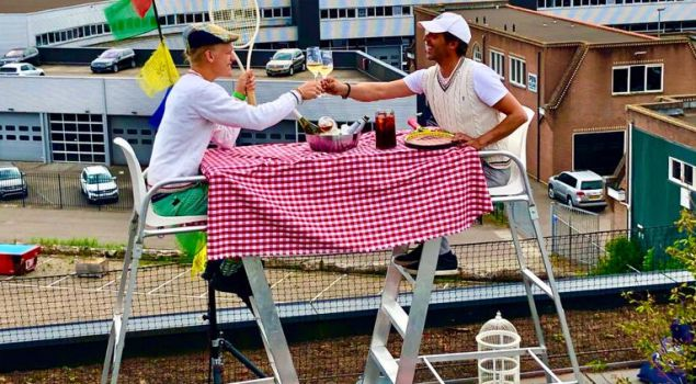 Rooftop Amsterdam | GROOVY TABLES - Picnic Edition