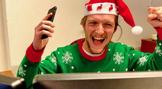 Online kerstborrel van 2021!