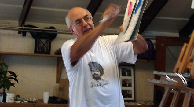 Schilderworkshop à la Bob Ross