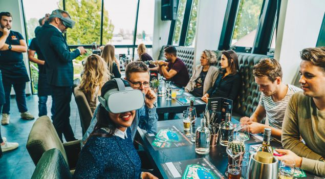 Virtual Reality Dining met 4-gangen