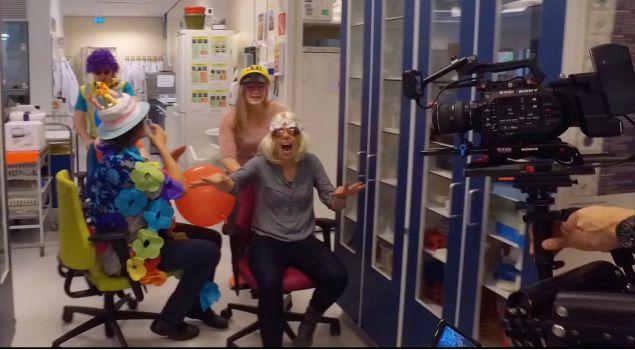Lipdub/videoclip maken vol plezier & hilariteit
