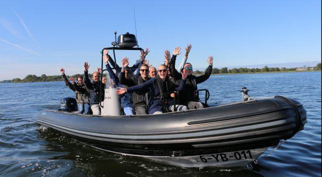 RIB-boot experience en sloep varen