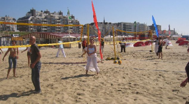 Feest en fun on the beach met overnachting