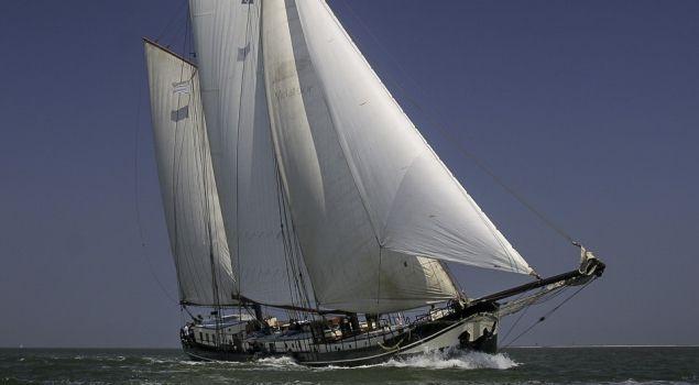 Weekendje nostalgisch zeilen op de Waddenzee
