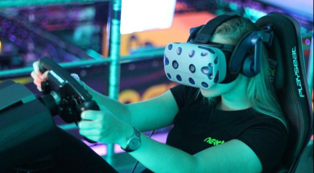 All-in Virtual Reality Events 1200m2 VR plezier!
