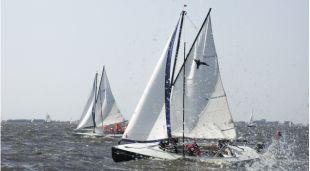 Teamuitje Zeilen in Friesland