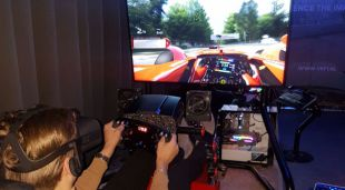 Virtual Reality Formule 1 Racen